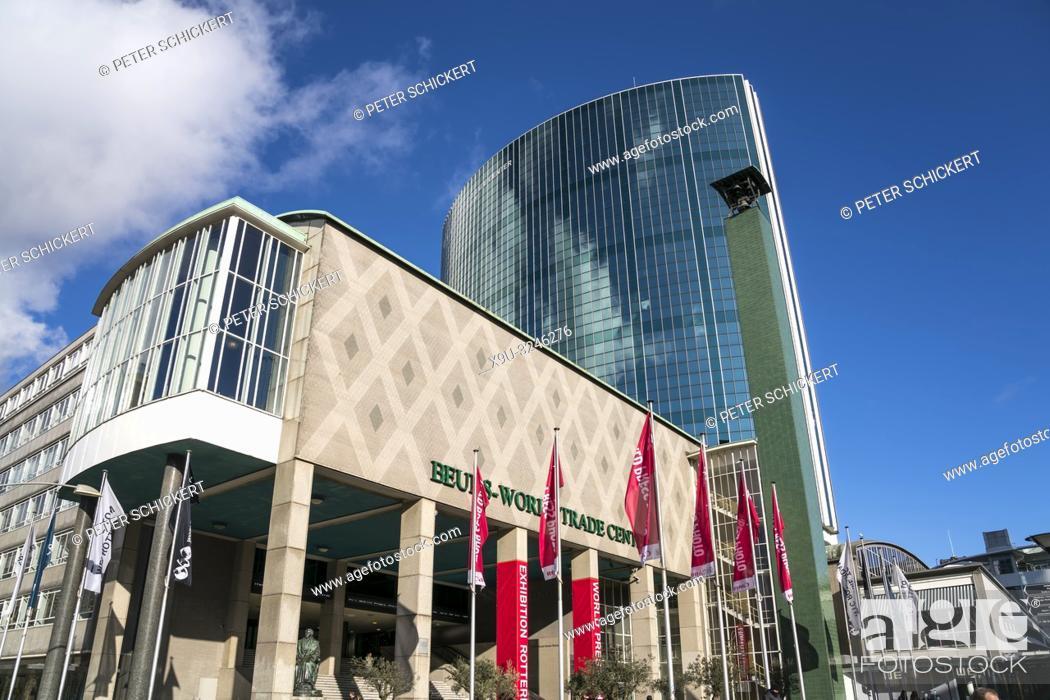Imagen: Börse - Beurs - World Trade Center in Rotterdam, Südholland, Niederlande | stock exchange, Beurs-World Trade Center, Rotterdam, South Holland, Netherlands.