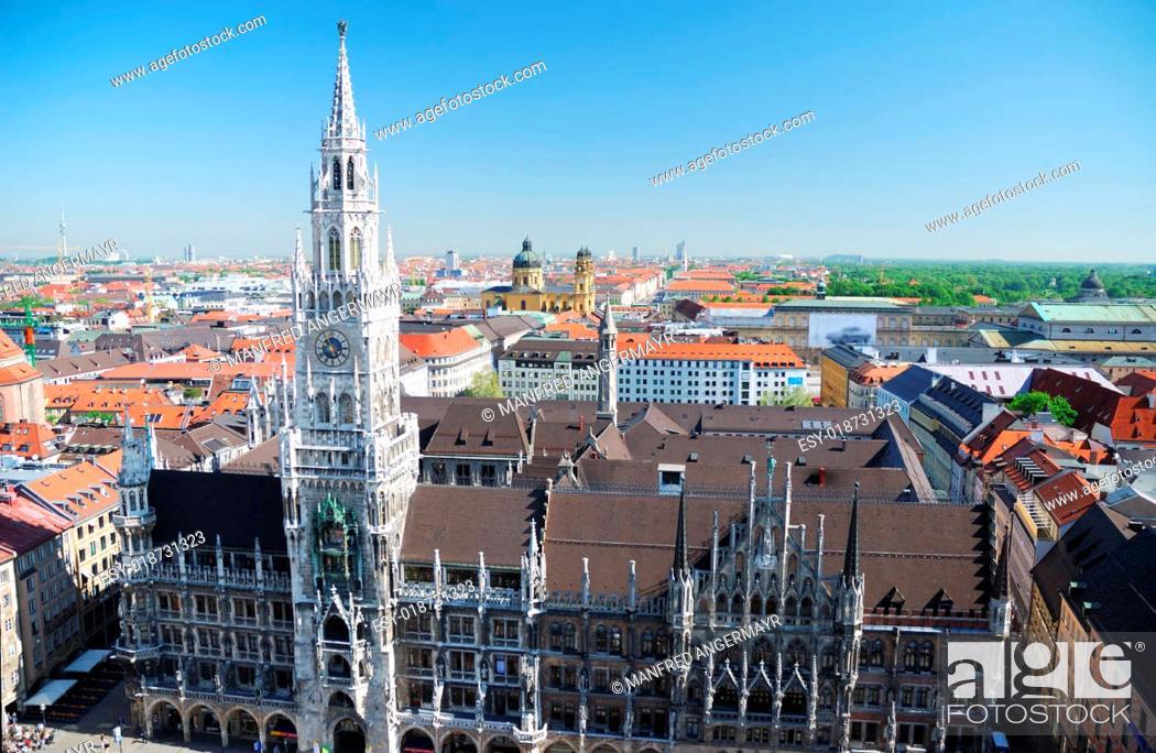 Stock Photo: Munich city house.