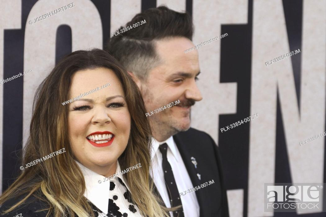 "Imagen: Melissa McCarthy, Ben Falcone at Warner Bros. Pictures' """"The Kitchen"""" Premiere held at the TCL Chinese Theatre, Los Angeles, CA, August 5, 2019."