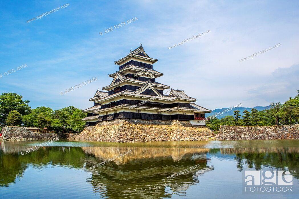 Imagen: Japan, Nagano Province, Matsumoto City, Matsumoto Castle.