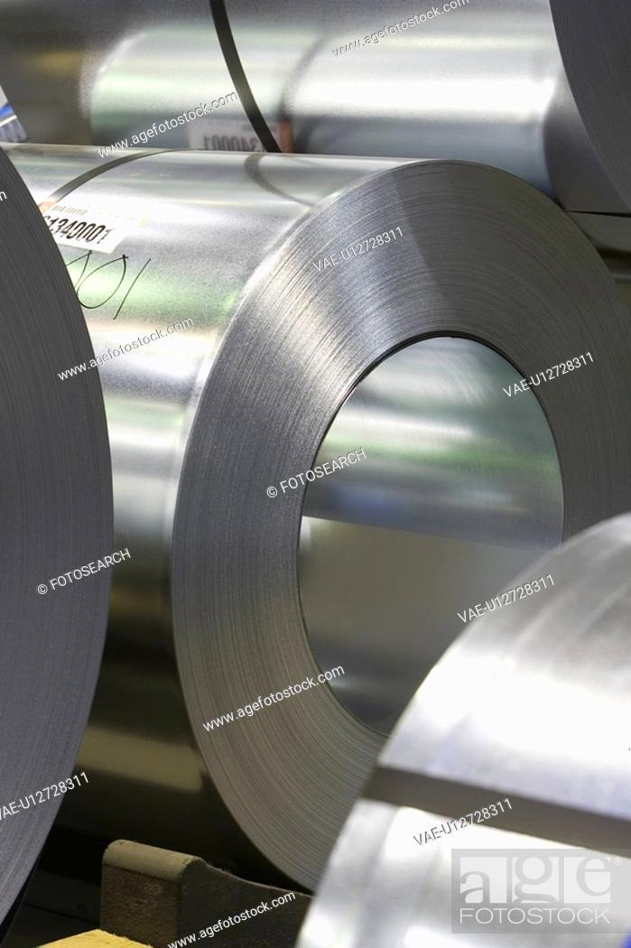 Stock Photo: Close-Up, Cylinder, Indoors, Metal.