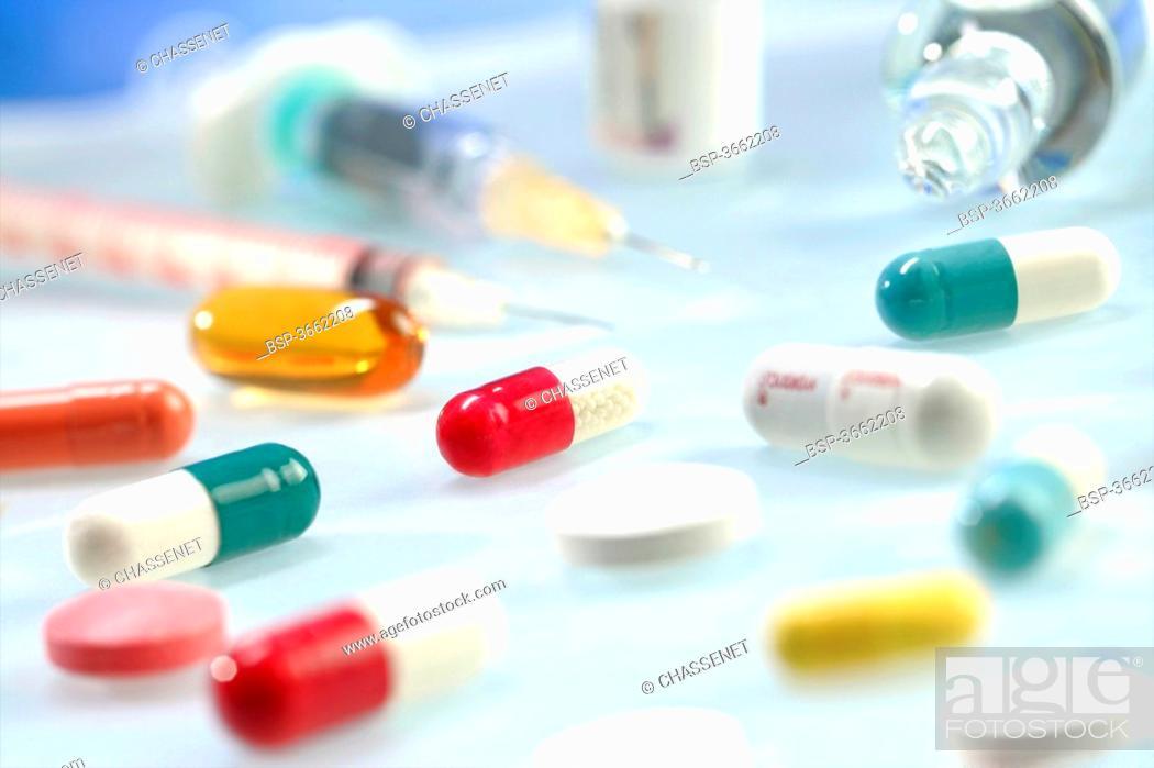 Stock Photo: MISCELLANEOUS DRUGS.