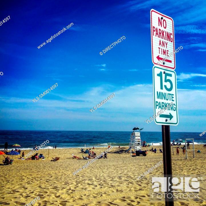 Imagen: East Hampton, NY, USA, Beach Scene.