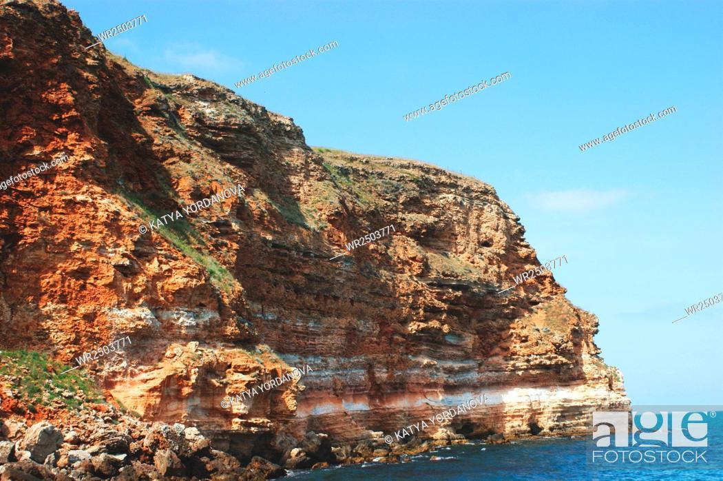 Imagen: Coastal landscape of Kaliakra headland.