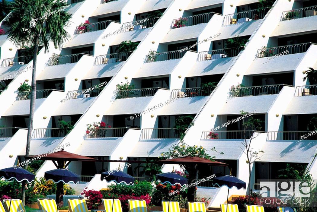 Stock Photo: The Royal Cliff Beach Resort,Pattaya,Thailand.