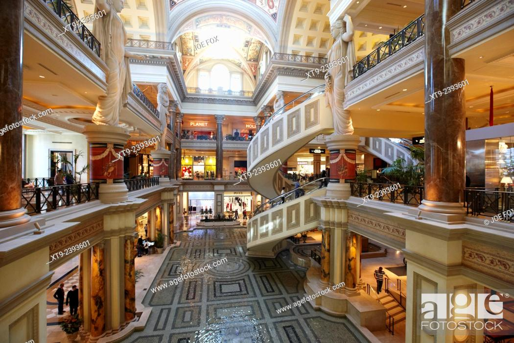 the forum shops at caesars palace luxury hotel and casino