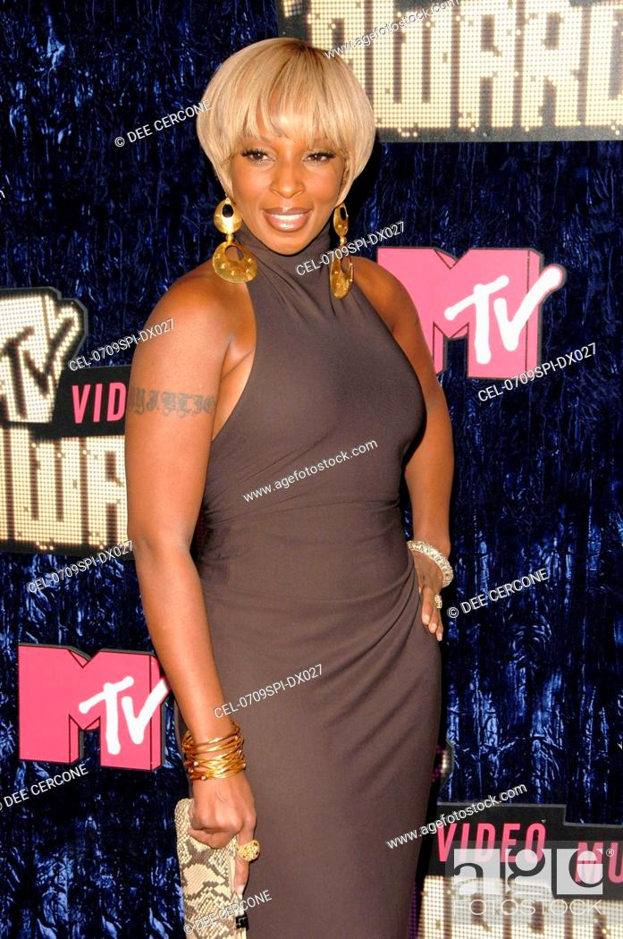 Mary J Blige At Arrivals For 2007 MTV VMA Video Music Awards