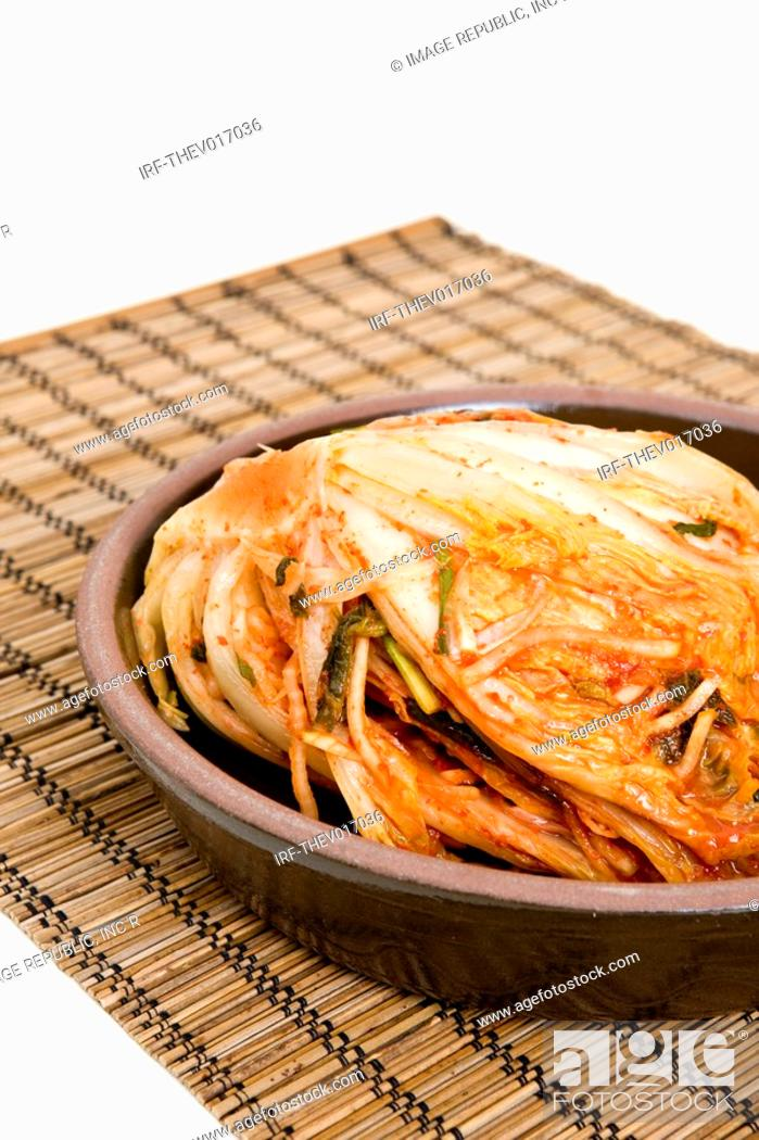 Stock Photo: Korean traditional food, Kimchi.