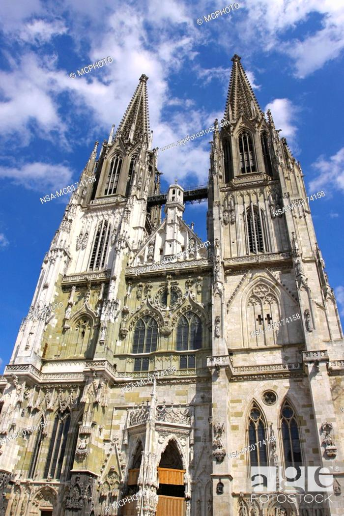 Stock Photo: Germany, Cathedral of Saint Peter.