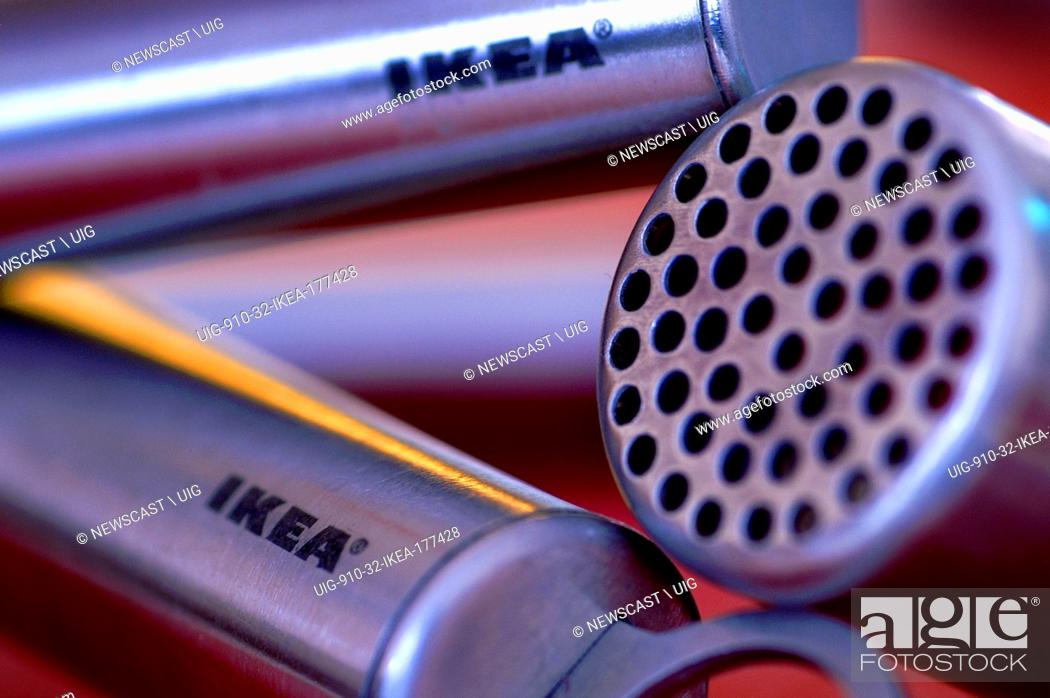 Close-up of Ikea kitchen utensils, Stock Photo, Picture And ...