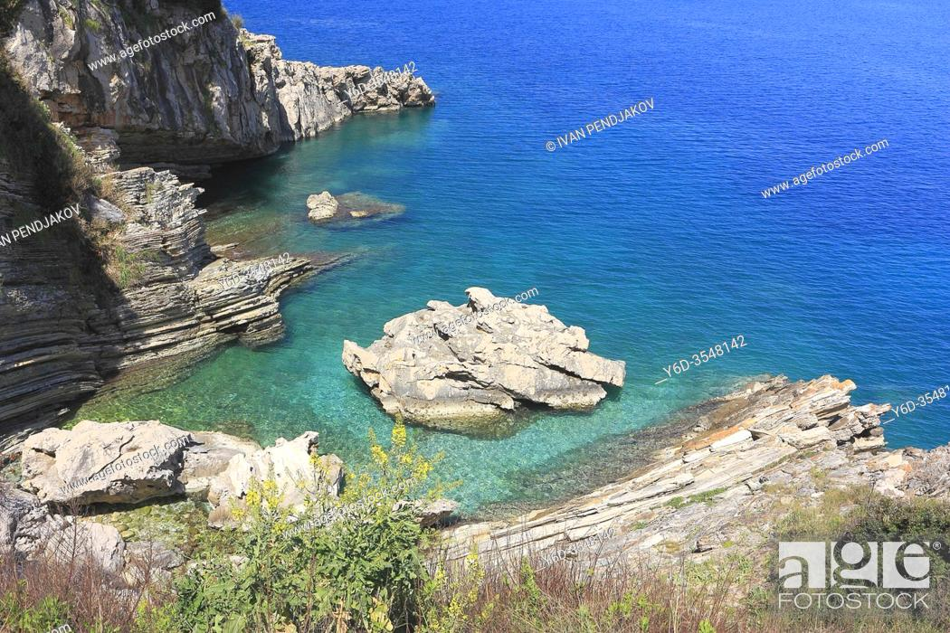 Stock Photo: Ionian Coast, Albania.