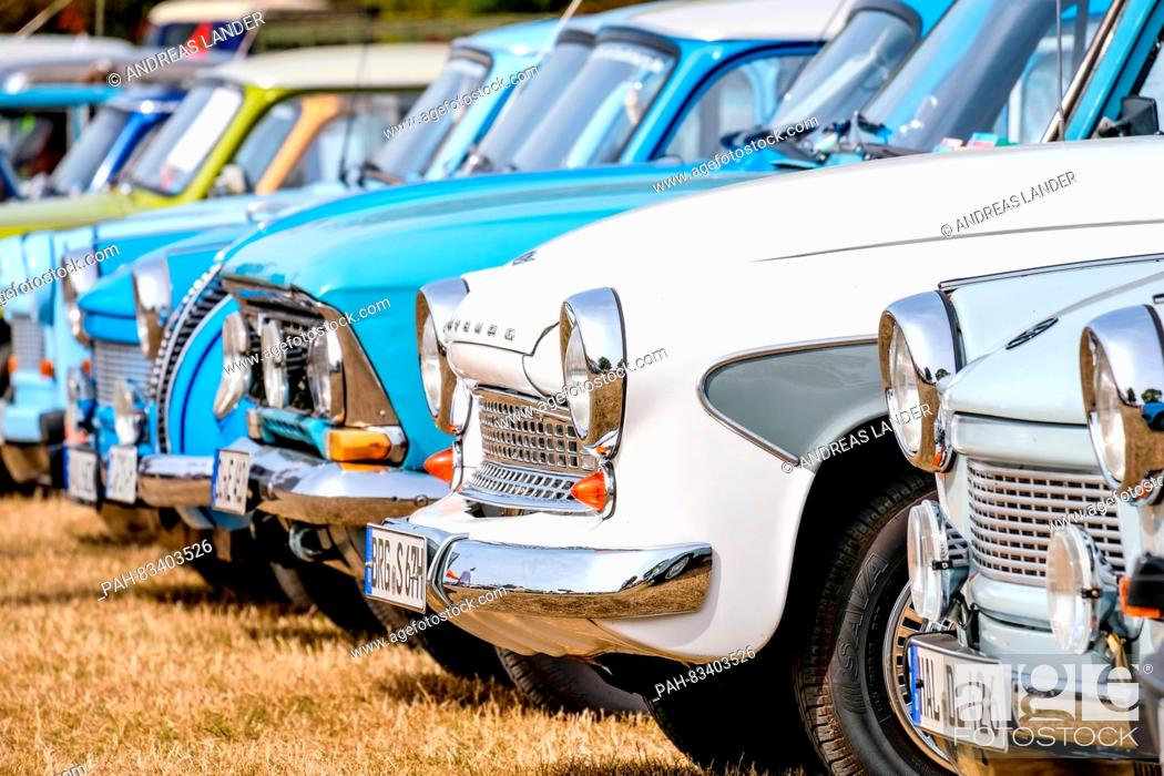 Classic cars from the GDR at the 18th Ost Mobil Meeting