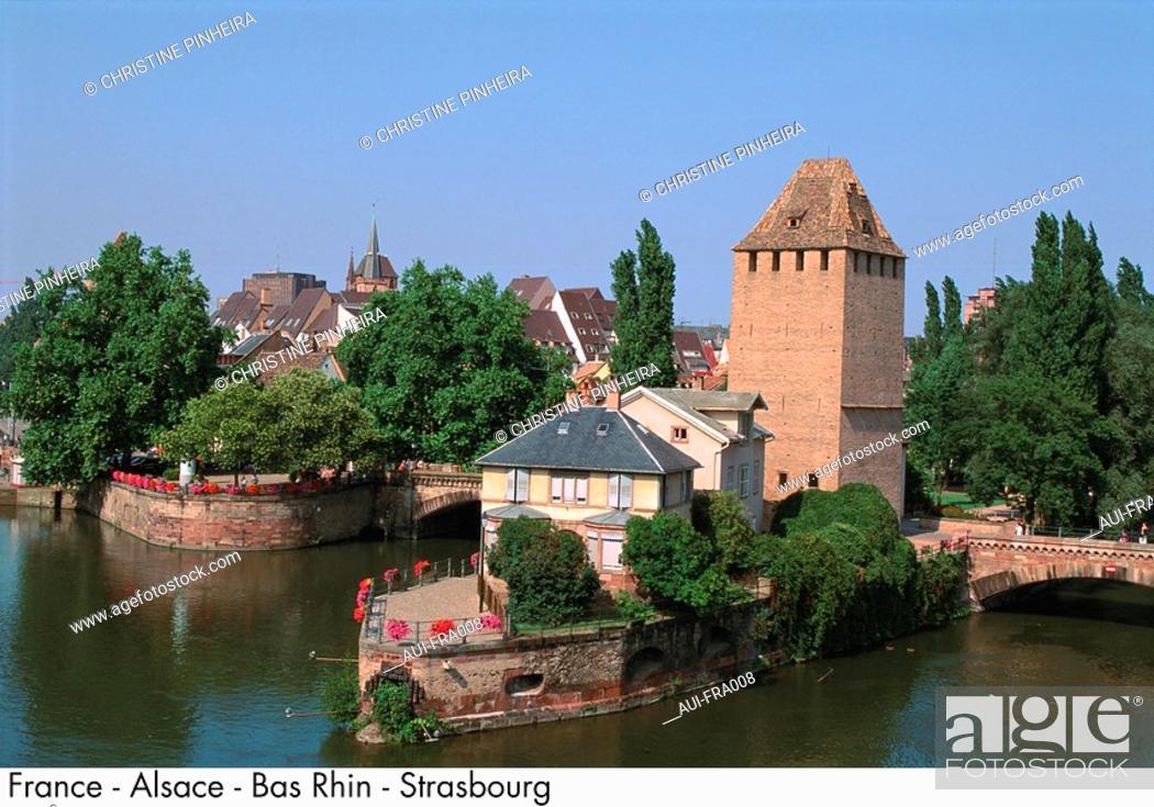 Stock Photo: France - Alsace - Bas Rhin - Strasbourg.