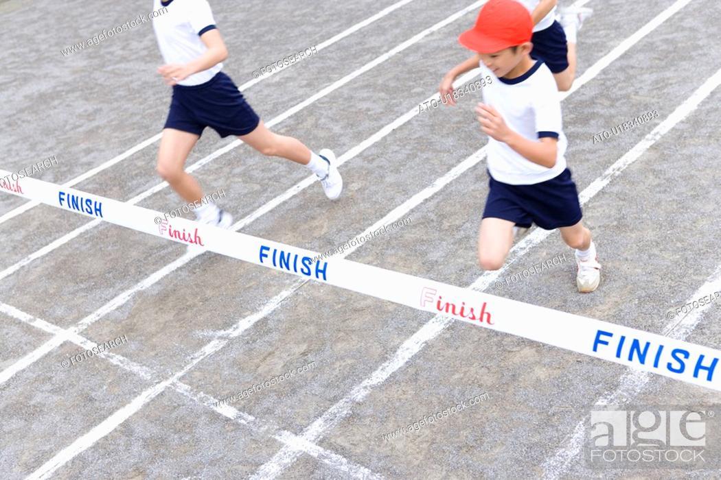 Imagen: School Sports Day.