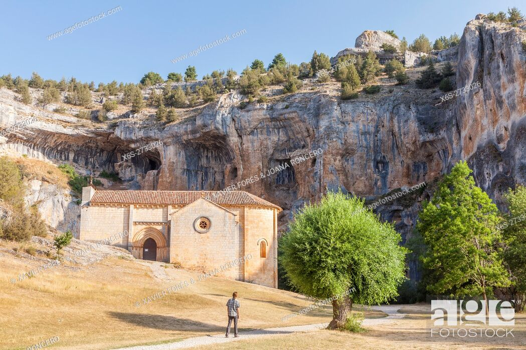 Imagen: Hermitage of San Bartolome in the Natural Park Cañon de Río Lobos - Canyon of Wolves River -, Soria, Spain.