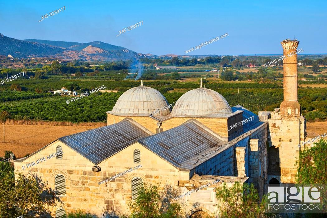 Stock Photo: Turkey, Izmir province, Selcuk city, archaeological site of Ephesus, Isa Bey mosque.