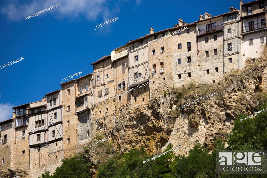 Stock Photo: Frias, Burgos province, Castilla-Leon, Spain.