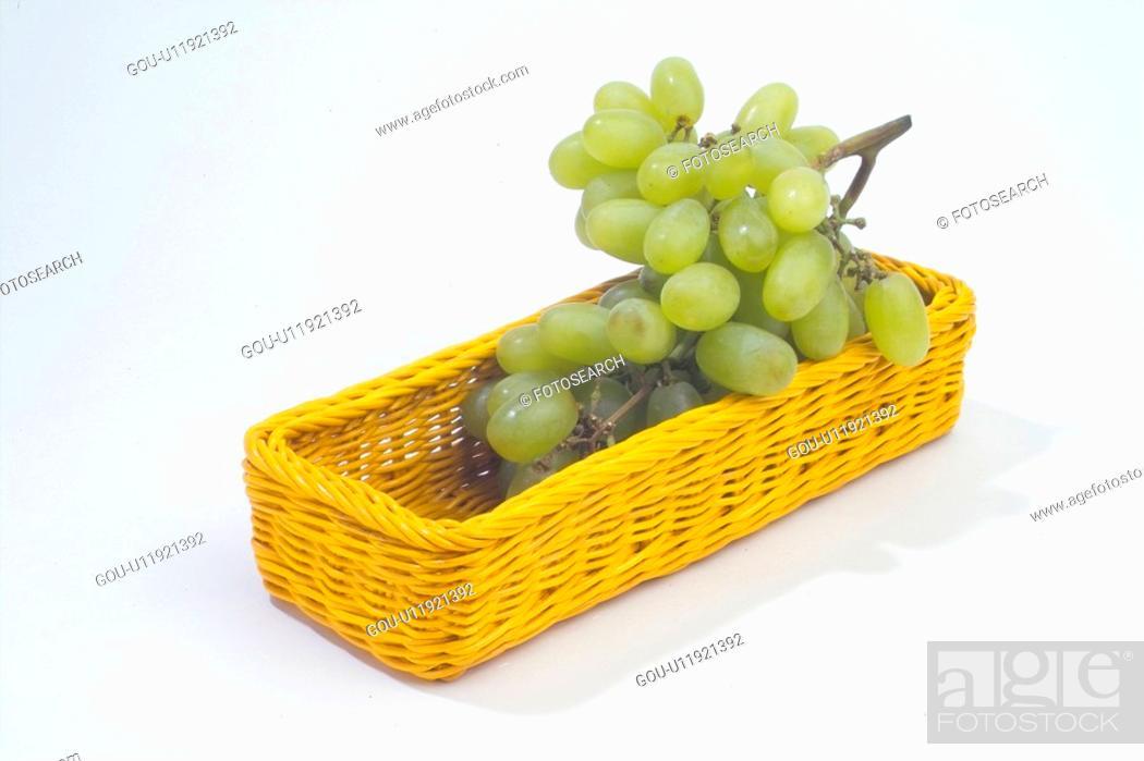 Stock Photo: graph, grape, plants, plant, fruit.