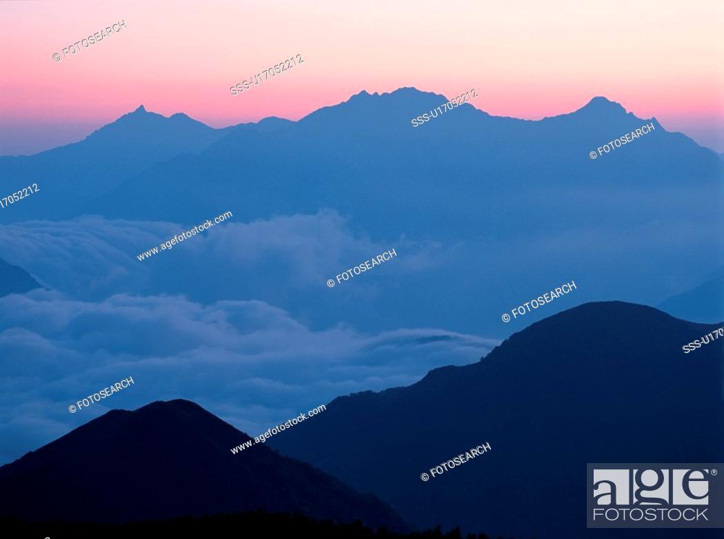 Stock Photo: Mount Hotaka.