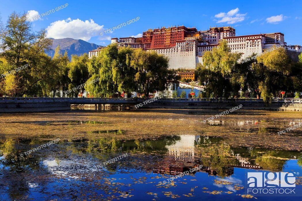 Imagen: Potala Palace; Tibet; China.