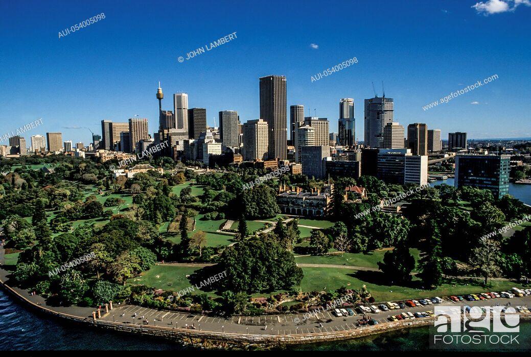 Stock Photo: australia, sydney, aerial view.