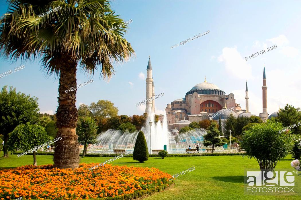 Stock Photo: Hagia Sophia.