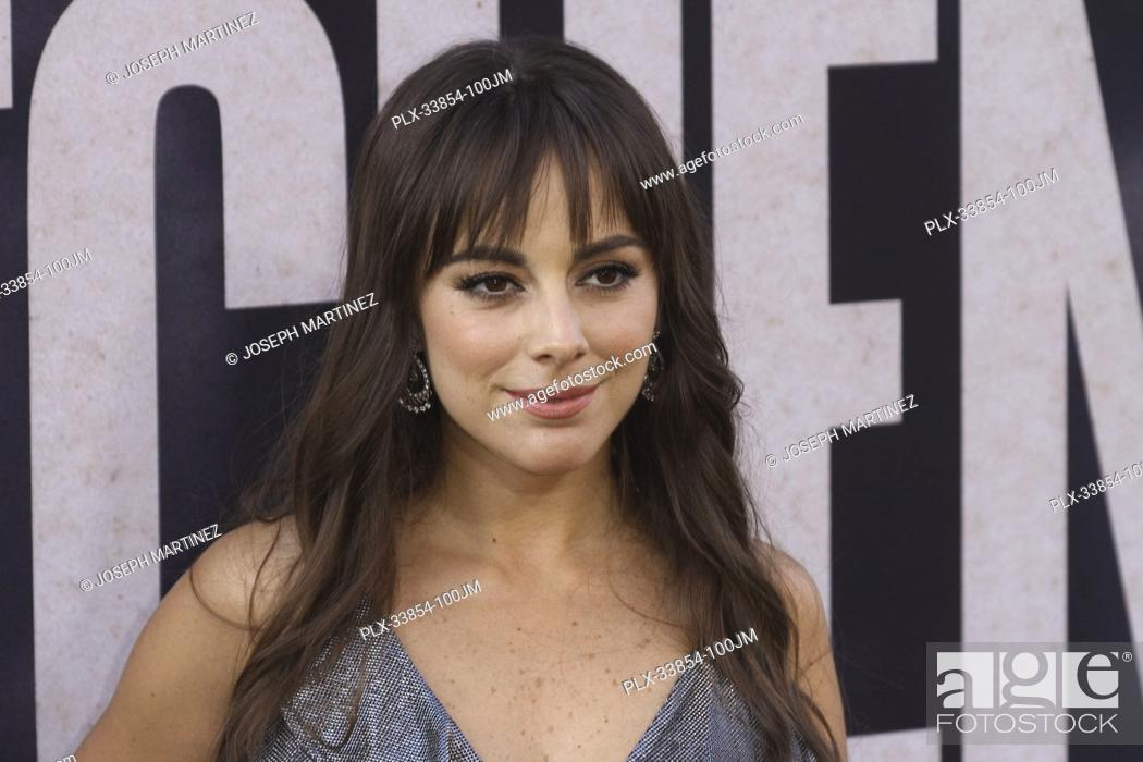 "Photo de stock: Maria Elisa Camargo at Warner Bros. Pictures' """"The Kitchen"""" Premiere held at the TCL Chinese Theatre, Los Angeles, CA, August 5, 2019."