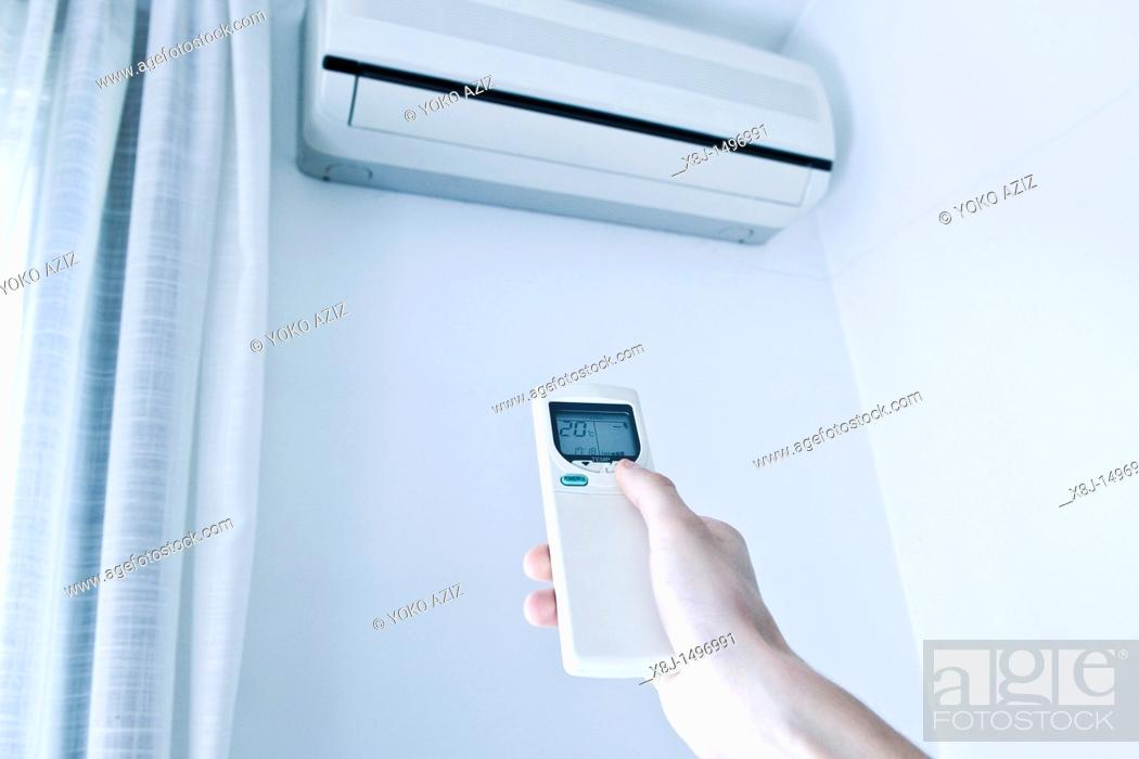 Stock Photo: air condition.