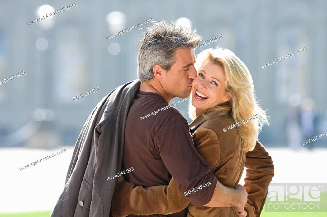 Stock Photo: Portrait of a mature couple.