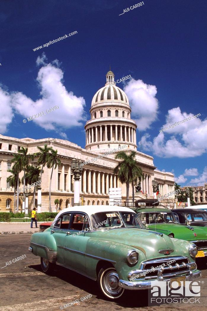 Stock Photo: Caribbean - Cuba - Havana.