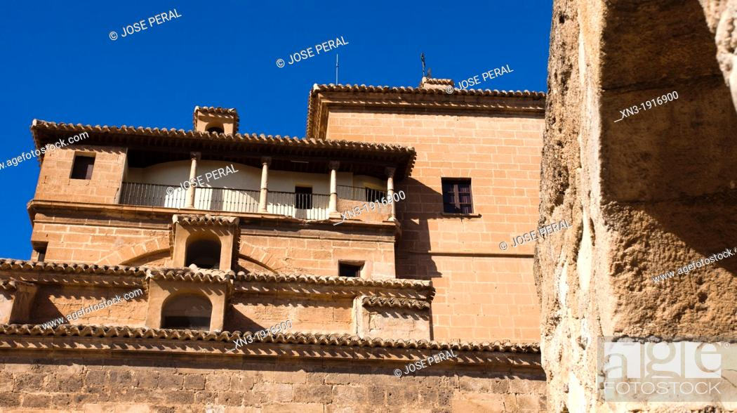 Stock Photo: Church, Basílica del Real Alcázar de la Vera Cruz, Caravaca de la Cruz, Murcia province, Spain, Europe.