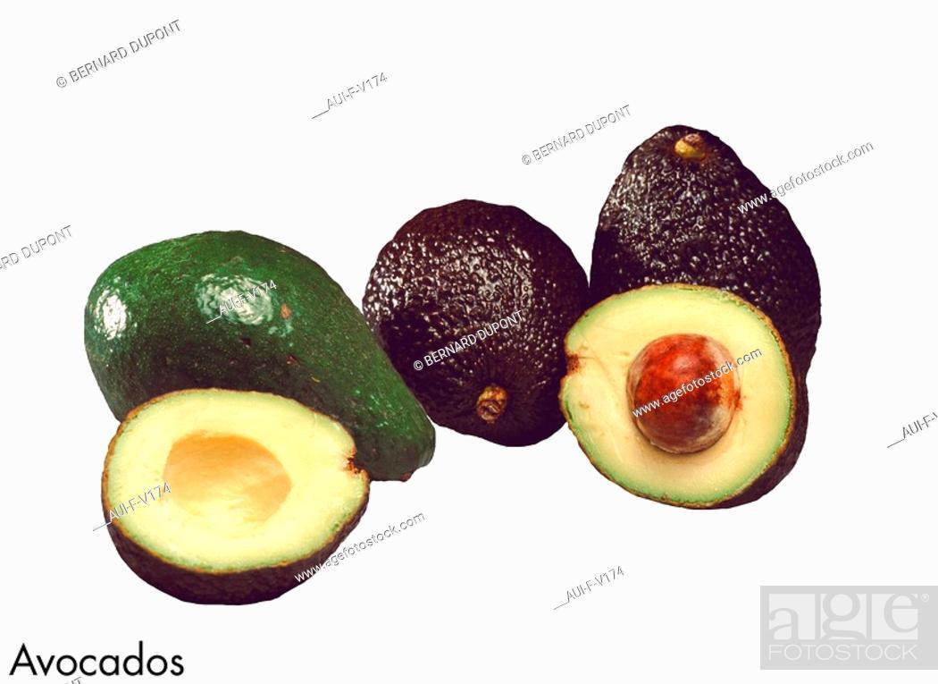 Stock Photo: Avocados.