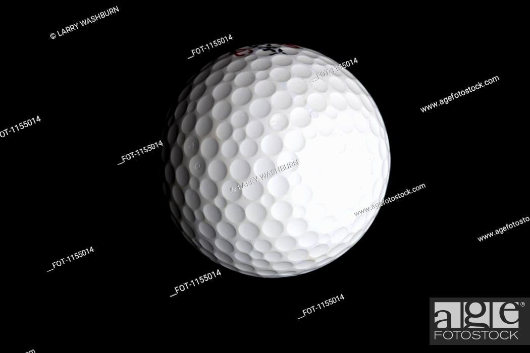 Stock Photo: Golf ball.
