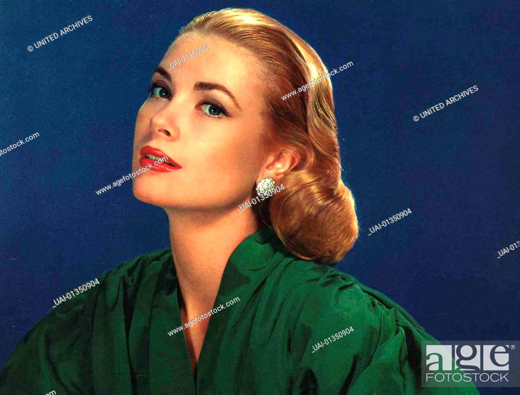 Diva Grace Kelly 1950er 1950s Film Star Filmstar Frisur