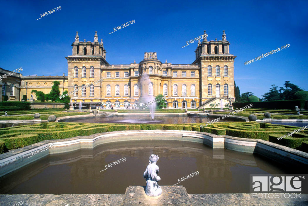 Stock Photo: Blenheim Palace. Oxfordshire. England, UK.