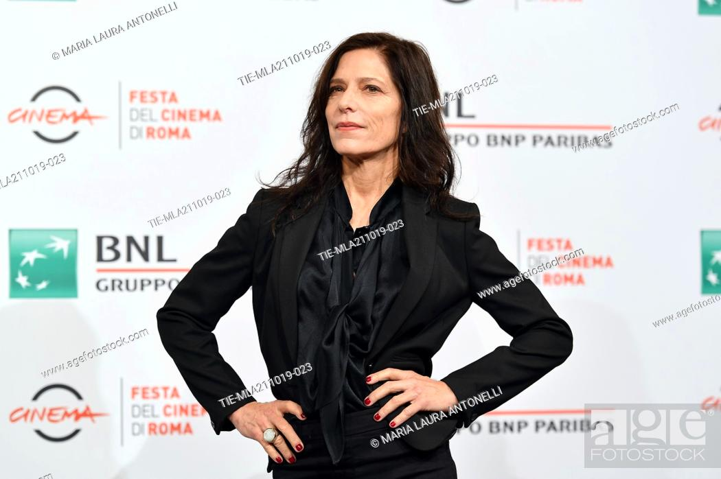Stock Photo: The director Melora Walters poses during the photocall for 'Drowing' at the 14th annual Rome Film Festival, in Rome, ITALY-20-10-2019.