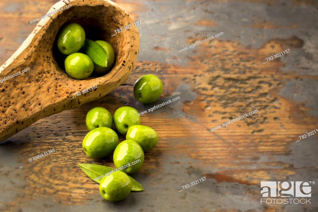 Stock Photo: table olives, Andalusia, Spain Europe.