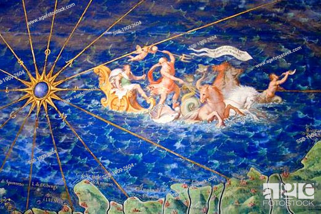Liguria Painting In Vatican Museum