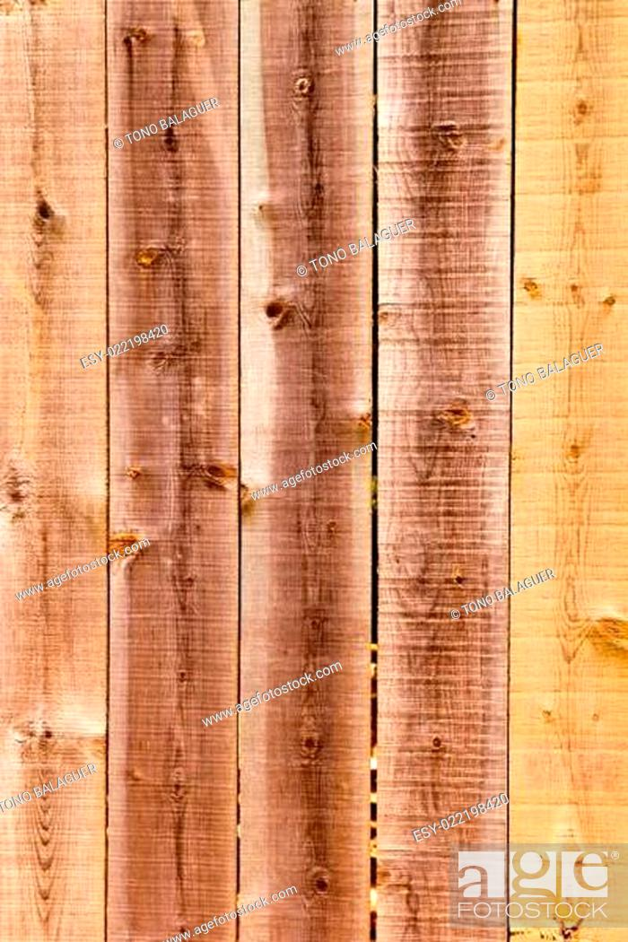 Stock Photo: brown wood stripes weathered texture.