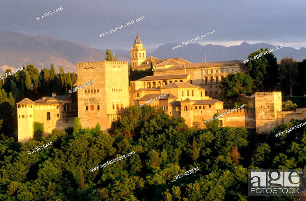 Stock Photo: Alhambra. Granada. Spain.