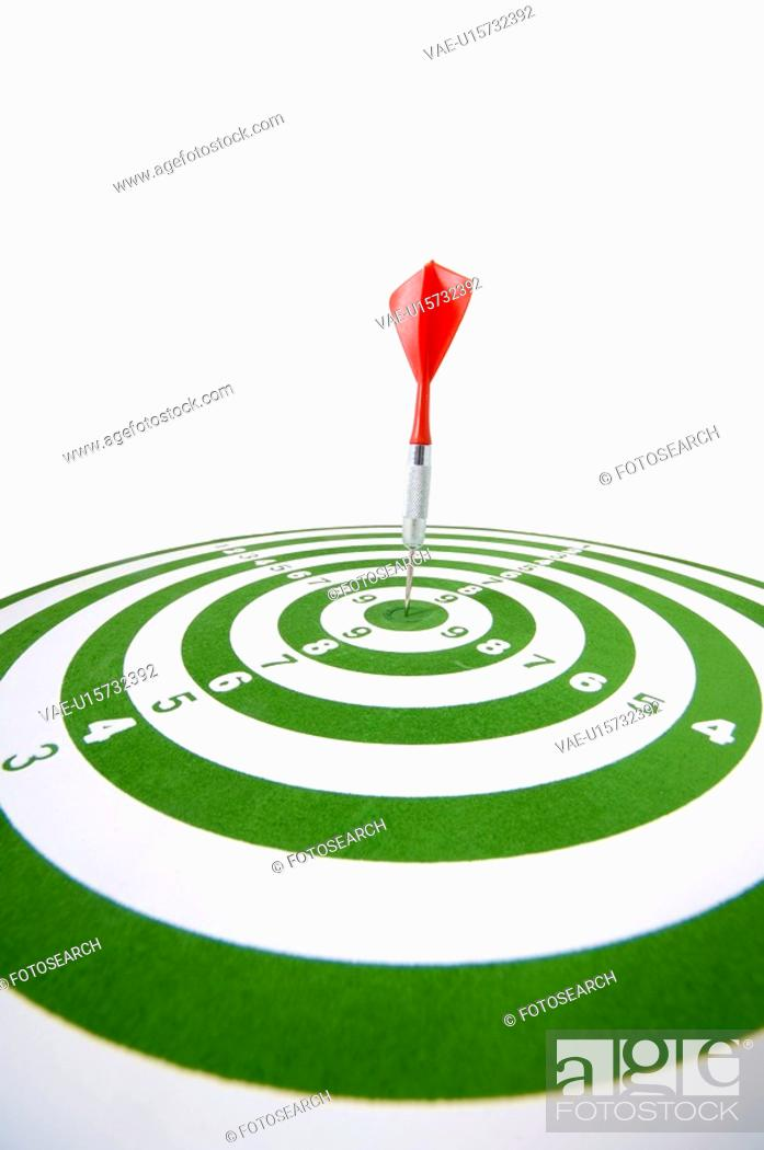 Stock Photo: board, aim, background, arrow, archery, bullseye, accurate.