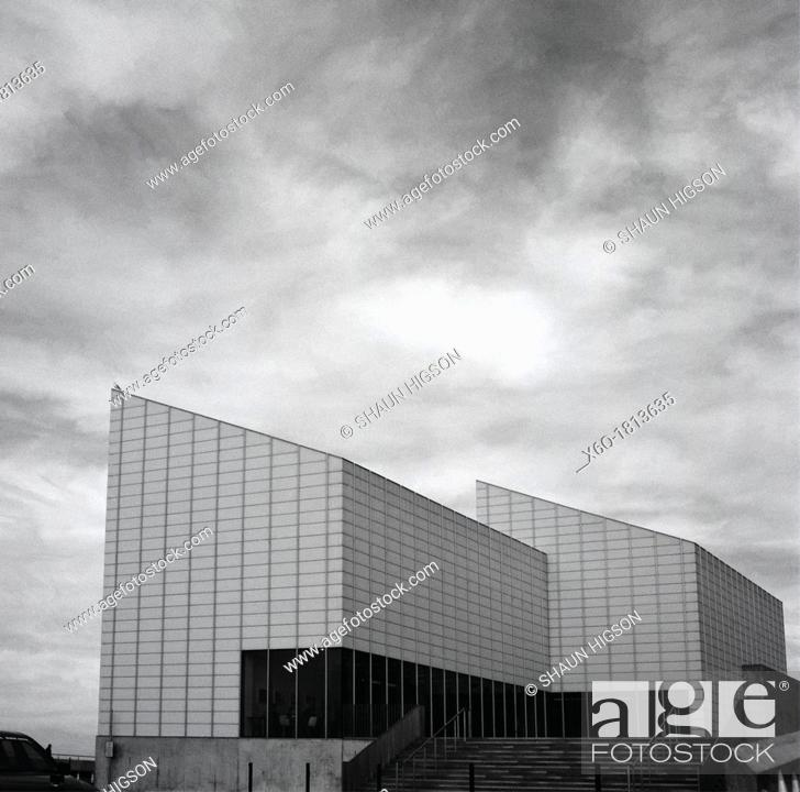 Imagen: The Turner Contemporary Art Gallery in Margate in England in Great Britain in the United Kingdom UK in Europe. Named after the artist J M W Turner Designed by.