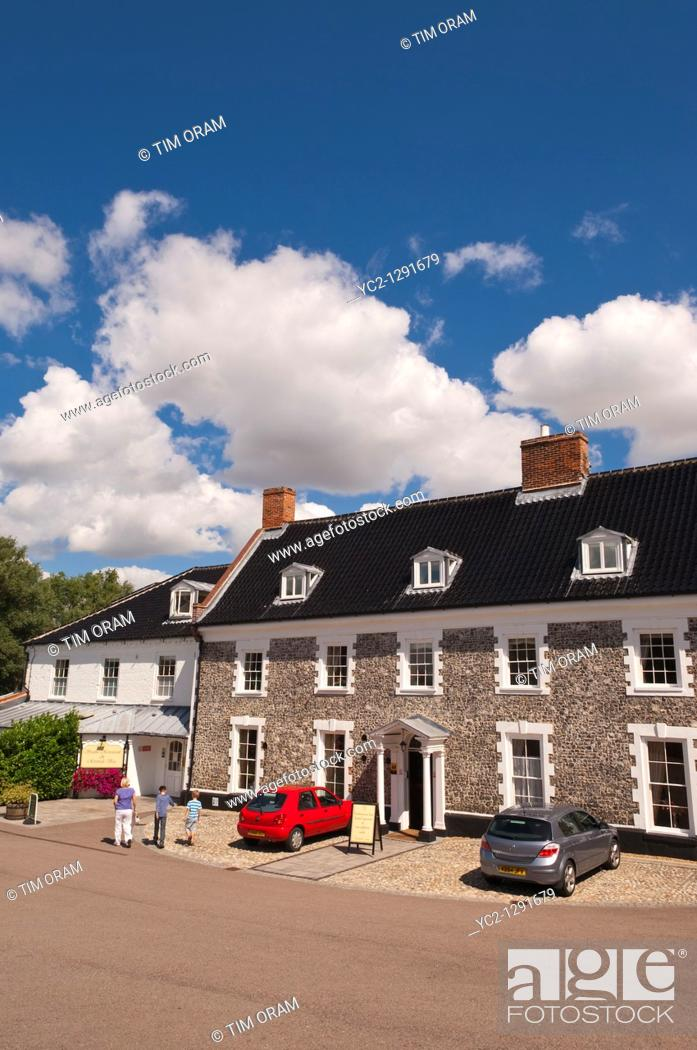 Stock Photo: The Waveney House Hotel in Beccles , Suffolk , England , Great britain , Uk.
