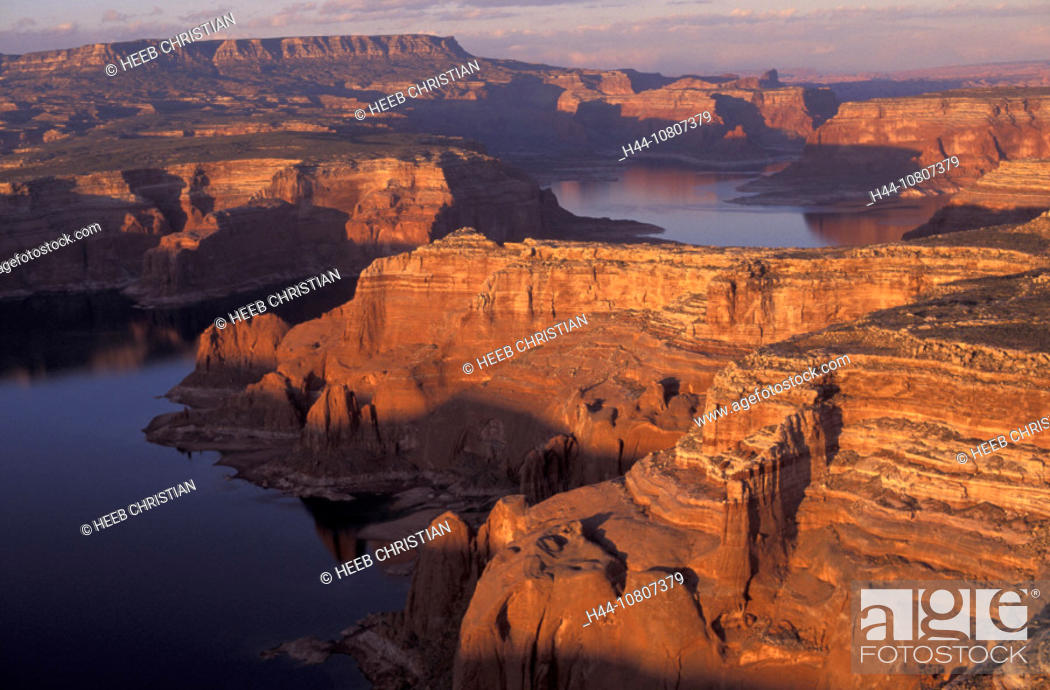 Stock Photo: America, Arizona, Color, Colour, Glen Canyon National Recreation Area, Lake Powell, United States, North America, US.