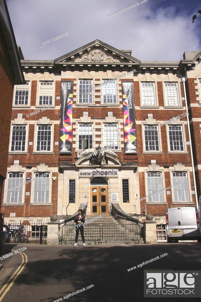 Stock Photo: Exeter Phoenix arts venue Exeter Devon UK.