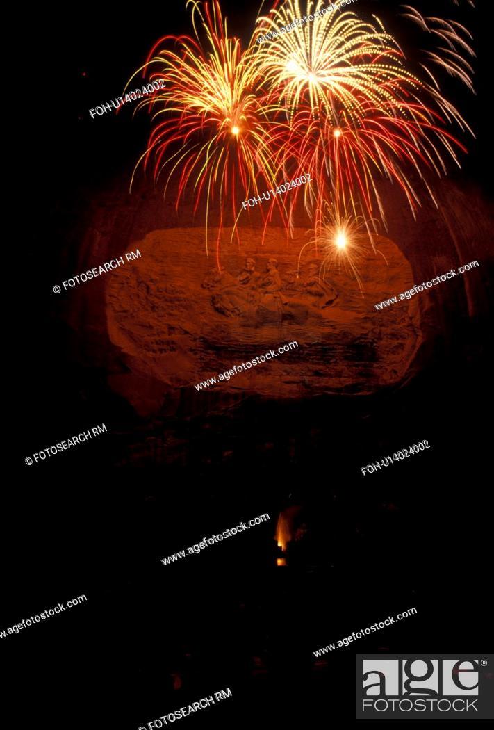 fireworks stone mountain georgia s stone mountain park atlanta