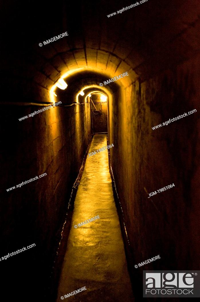 Stock Photo: Chiunglin Tunnel in Jinhu Town, Kinmen County, Taiwan.