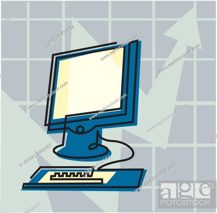 Stock Photo: Computer.