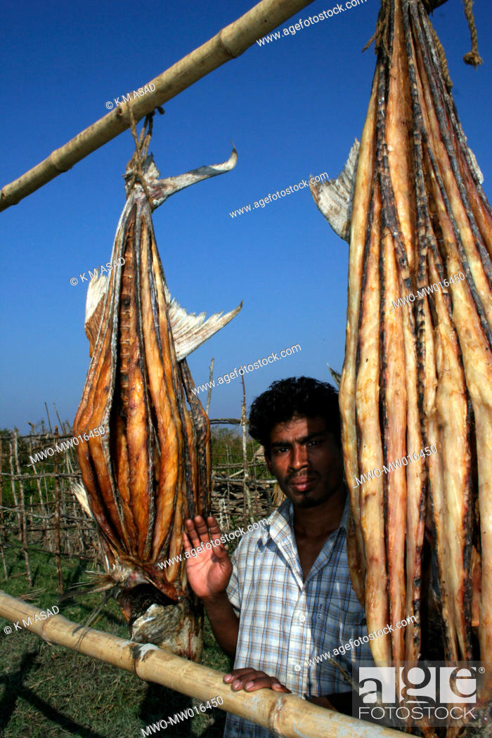 Dry fish or 'Shutki' is a popular Bengali food and a big industry