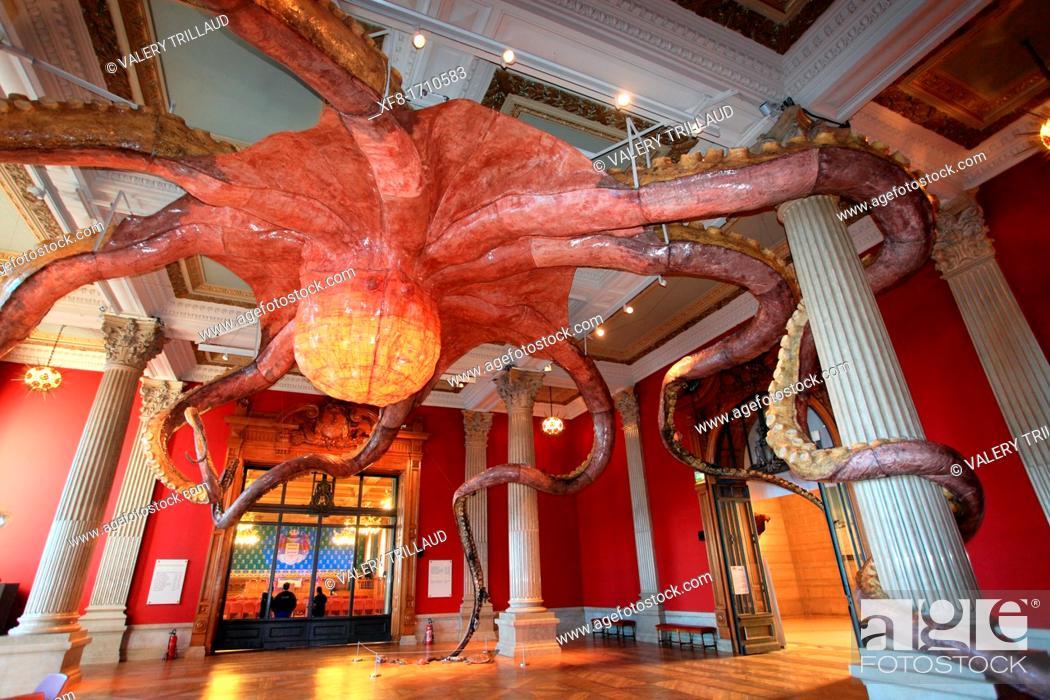 Stock Photo: Oceanographic museum of Monaco, principality of Monaco, Monte Carlo.